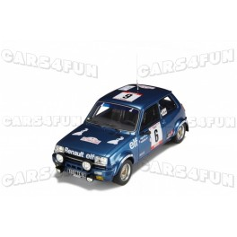 Renault 5 Alpine Groupe 2 Nr.6 Rallye Tour de Corse 1979 (2nd place), OttO mobile 1/18 scale