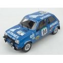 Renault 5 Alpine Nr.4 Rally Bandama Côte d'Ivoire 1978 (3rd Place), IXO Models 1/18 scale