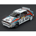 Lancia Delta HF Integrale EVO Nr.4 Winner Rally Monte Carlo 1992 model 1:43 Spark S9015