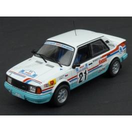 Škoda 130 LR Gr.B Nr.21 Acropolis Rally 1986, IXO Models 1/43 scale