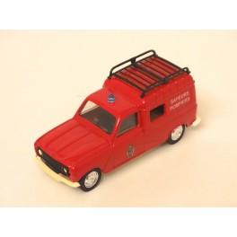 Renault 4L F4 1975 Pompiers, Solido 1:43