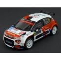 Citroen C3 R5 Nr.27 Rallye Monte Carlo 2020 model 1:43 IXO Models RAM747