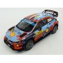 Hyundai i20 Coupe WRC Nr.19 Rallye Catalunya 2019 model 1:18 IXO MODELS 18RMC052B.20