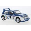 MG Metro 6R4 Nr.14 RAC Rally 1986 model 1:18 IXO MODELS 18RMC068C.20