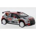 Citroen C3 R5 Nr.30 Rallye Monza 2020, IXO Models 1/43 scale