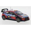 Hyundai i20 Coupe WRC Nr.6 Rallye Monza 2020 model 1:43 IXO Models RAM770