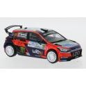 Hyundai i20 R5 Nr.66 Rallye Monza 2020 model 1:43 IXO Models RAM780LQ