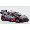 Hyundai i20 Coupe WRC Nr.6 Rallye Sardinien 2020 model 1:43 IXO Models RAM763