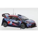 Hyundai i20 Coupe WRC Nr.7 Rallye Sardinien 2020 model 1:43 IXO Models RAM764LQ