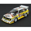 Audi Sport Quattro S1 E2 Nr.5 Winner Rallye Sanremo 1985 model 1:43 Spark S5192