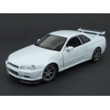 Nissan Skyline GT-R (R34) 1999 (White) model 1:24 WELLY WE-24108w