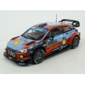 Hyundai i20 Coupe WRC Nr.11  Rally Monte Carlo 2019 (2nd Place), IXO Models 1/24 scale