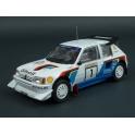 Peugeot 205 T16 E2 Nr.1 Winner Rally 1000 Lakes 1986, IXO Models 1/24 scale