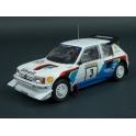 Peugeot 205 T16 E2 Nr.3 Rally 1000 Lakes 1986 (2nd Place), IXO Models 1/24 scale