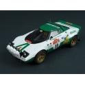 Lancia Stratos HF Nr.11 Winner Rally Sanremo 1975, IXO Models 1/18 scale