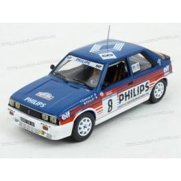 Renault 11 Turbo Gr.A Nr.8 Rallye Tour de Corse 1987 model 1:43 IXO Models RAC311