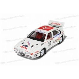 Citroen BX 4TC Groupe B Nr.10 Rallye Sweden 1986, OttO mobile 1:18