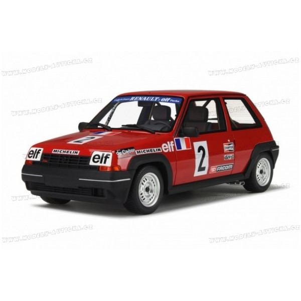 renault 5 gt turbo cup nr 2 1985 otto mobile 1 18. Black Bedroom Furniture Sets. Home Design Ideas
