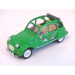 Citroen 2CV Sausss Ente 1987, WhiteBox 1:43
