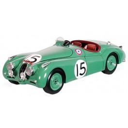 Jaguar XK120 Nr.15 Le Mans 1950, SPARK 1:43