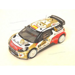 Citroen DS3 WRC Nr.3 Winner Rally Germany 2013, IXO Models 1:43