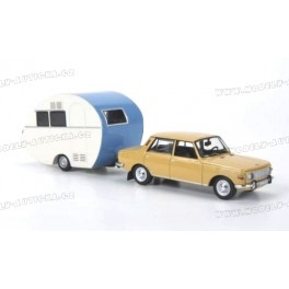 Wartburg 353 1967 plus Würdig 301 Caravan, IXO MODELS 1:43