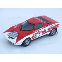 Lancia Stratos HF Nr.2 1974 Rally Sanremo, HPI racing 1:43