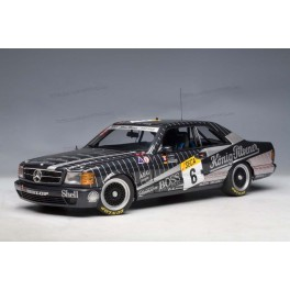 Mercedes Benz 500SEC AMG Nr.6 24HRS SPA Franchorchamps 1989