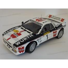 Lancia 037 Rally Würth Nr.1 Winner Rally Deutschland 1983, Kyosho 1:18