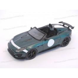 Jaguar F-Type Project 7 Paris Motor Show 2014, Premium X Models 1:43