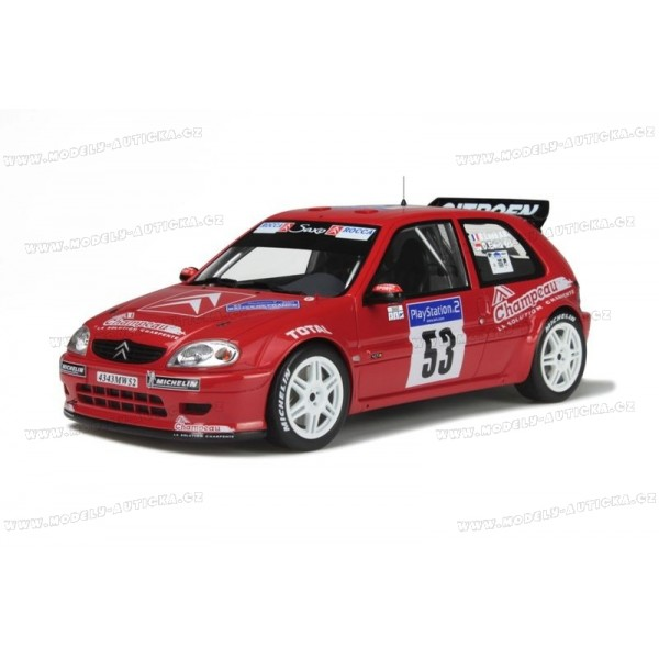 citroen saxo kit car rallye tour de corse asphalte 2001 otto mobile 1 18 model. Black Bedroom Furniture Sets. Home Design Ideas