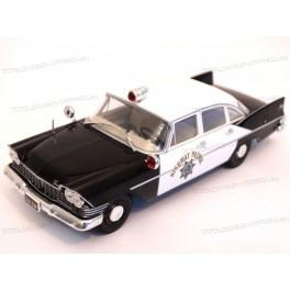 Plymouth Savoy California Highway Patrol (Police) 1959, WhiteBox 1:43