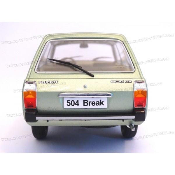 peugeot 504 break 1976 mcg model car group 1 18. Black Bedroom Furniture Sets. Home Design Ideas