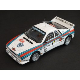 Lancia 037 Rally Martini Racing Nr.1 Winner Rally Monte Carlo 1983, WhiteBox 1:43