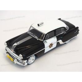 Pontiac Chieftain California Highway Patrol (Police) 1954, WhiteBox 1:43
