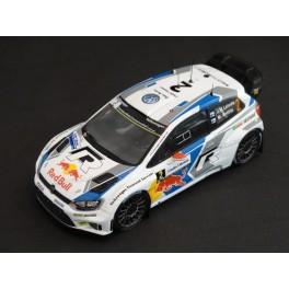 Volkswagen Polo R WRC Nr.2 Winner Rally France 2014, WhiteBox 1:43