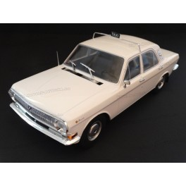 Volga GAZ M24 Taxi 1972, MCG (Model Car Group) 1/18 scale