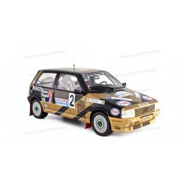Fiat Uno Turbo i.e. Grifone Rally Limone 1987 Nr.2, Laudoracing-Model 1/18 scale