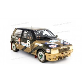 Fiat Uno Turbo i.e. Grifone Rally Limone 1987 Nr.2 (Dirty version), Laudoracing-Model 1/18 scale