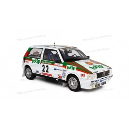 Fiat Uno Turbo i.e. Rally Portugal 1986 Nr.22, Laudoracing-Model 1:18