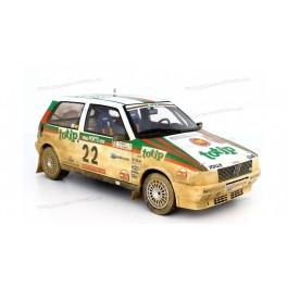 Fiat Uno Turbo i.e. Rally Portugal 1986 Nr.22 (Dirty version), Laudoracing-Model 1:18