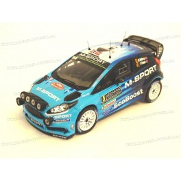 Ford Fiesta RS WRC Nr.5 Rally Monte Carlo 2016, IXO Models 1/43 scale