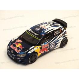 Volkswagen Polo R WRC Nr.1 Winner Rally Monte Carlo 2015, Spark 1:43