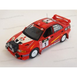 Mitsubishi Lancer EVO V Nr.1 Winner Rally Australia 1998, WhiteBox 1/43 scale