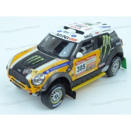 MINI ALL4 Racing Nr.305 2nd Dakar 2012, IXO Models 1/43 scale