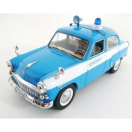 Moskvič 407 1959 Budapeste Police (Hungary), IXO MODELS 1:43
