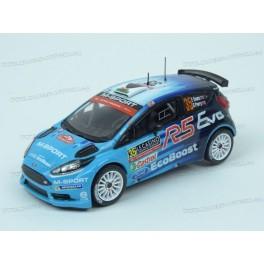 Ford Fiesta R5 WRC Nr.35 Winner WRC2 Rally Monte Carlo 2016, IXO Models 1/43 scale