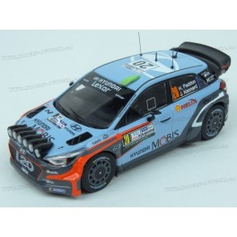 Hyundai i20 WRC Nr.20 Winner Rally Argentina 2016, IXO Models 1:43
