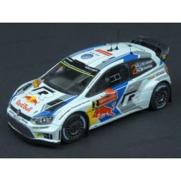 Volkswagen Polo R WRC Nr.2 Winner Rally Sweden 2014, WhiteBox 1:43