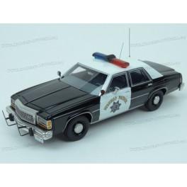 Ford LTD Crown Victoria California Highway Patrol (Police) 1987, BoS Models 1/43 scale